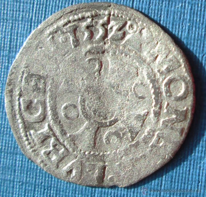 LÜBECK -DINERO - 1552 - PLATA (Numismática - Hispania Antigua- Medievales - Otros)