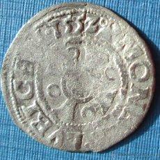 Monedas medievales: LÜBECK -DINERO - 1552 - PLATA. Lote 61906598