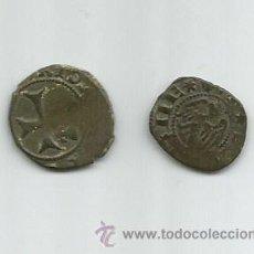 Monedas medievales: LOTE DE 2 RARAS MONEDAS MEDIEVALES. Lote 47660448
