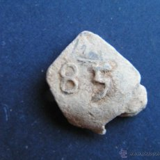 Monedas medievales: PRECINTO DE PLOMO . S XVIII . Lote 47688627