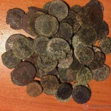 Monedas medievales: MONEDAS DE COBRE ROMANAS. Lote 52921285