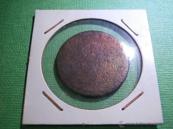 ANTIGUO COSPEL DE MONEDA - SIN IDENTIFICAR - 30 MM. DE DIÁMETRO - COBRE - (Numismática - Hispania Antigua- Medievales - Otros)