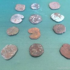 Monedas medievales: LOTE ENCONTRADO,TAL Y COMO SE VE Y SIN CLASIFICAR,VER FOTOS LOTE 1. Lote 56197386