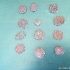 Monedas medievales: LOTE ENCONTRADO,TAL Y COMO SE VE Y SIN CLASIFICAR,VER FOTOS LOTE. Lote 56197644