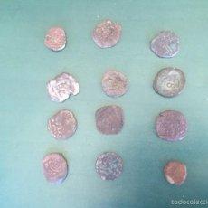 Monedas medievales: MONEDAS ENCONTRADAS EN EXCABACION , DESCONOZCO VALOR,LAS FOTOS POR LAS 2 CARAS LOTE (LOTE 3. Lote 56197838