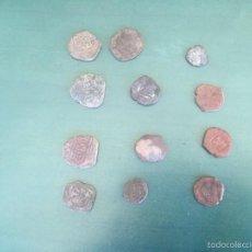 Monedas medievales: MONEDAS ENCONTRADAS EN EXCABACION , DESCONOZCO VALOR,LAS FOTOS POR LAS 2 CARAS LOTE 4. Lote 56197971