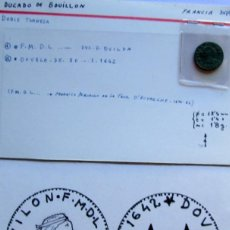 Monedas medievales: FRANCIA - BOUILLON - DOBLE TRONESA. Lote 58776351