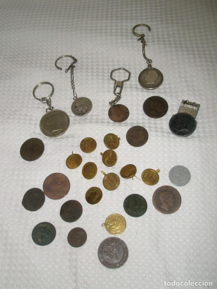 LOTE DE MONEDAS ANTIGUAS (Numismática - Hispania Antigua- Medievales - Otros)