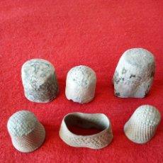 Monedas medievales: LOTE DE 6 DEDALES DISTINTAS ÉPOCAS. Lote 73622157