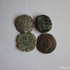 Monedas medievales: 4 MONEDAS DE DIFERENTES ÉPOCAS.. Lote 76642419