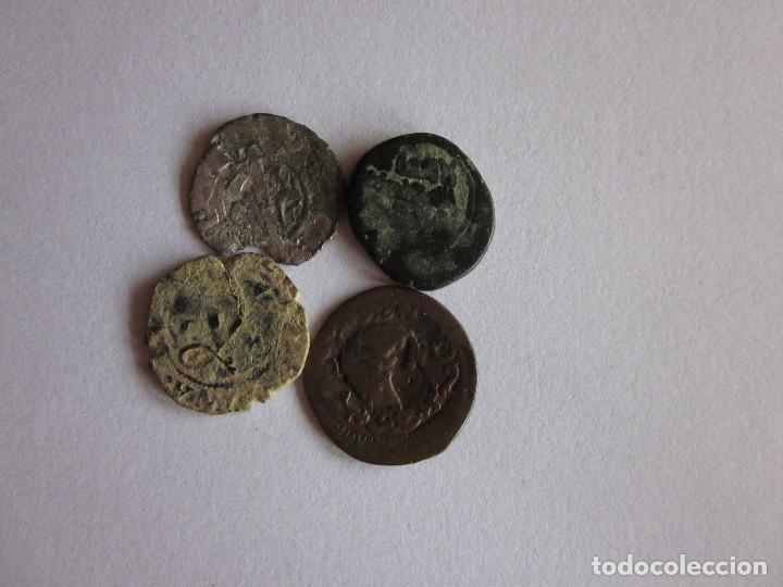 Monedas medievales: 4 monedas de diferentes épocas. - Foto 2 - 76642419
