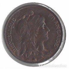 Monedas medievales: MONEDA REPÚBLICA FRANCESA DEL AÑO 1906.. Lote 87532052