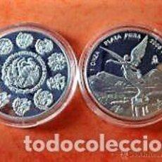 Monedas medievales: MONEDA LIBERTAD DE MÉXICO 1 OZ DE PLATA.. Lote 88361100