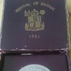 Monedas medievales: MONEDA GRAN BRETAÑA FESTIVAL AÑO 1951.. Lote 95358827