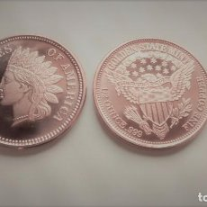 Monedas medievales: 1/2 OZ COPPER COIN - INDIAN HEAD - GOLDEN STATE MINT.. Lote 96932891