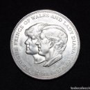 Monedas medievales: 1981 CROWN THE ROYAL WEDDING OF PRINCE CHARLES & LADY DIANA SPENCER UNCIRCULATED. Lote 96934811