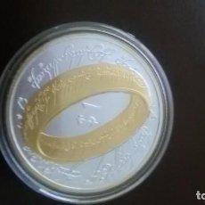 Monedas medievales: MONEDA DEL SEÑOR DE LOS ANILLOS AÑO 2003.. Lote 96938167