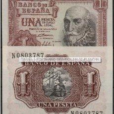 Monedas medievales: ESPAÑA 1 PESETA AÑO 1953 PICK 144 SC PLANCHA.. Lote 97871023