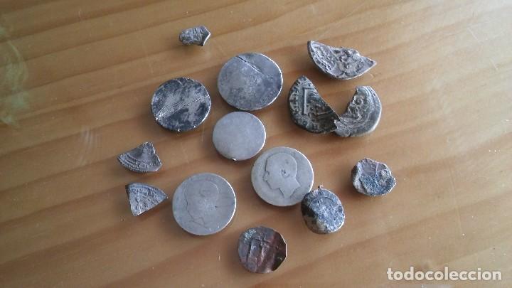 LOTE MONEDAS ANTIGUAS HAY PLATA. (Numismática - Hispania Antigua- Medievales - Otros)
