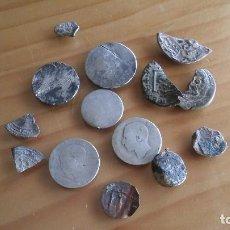 Monedas medievales: LOTE MONEDAS ANTIGUAS HAY PLATA.. Lote 103111191