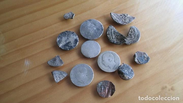 Monedas medievales: LOTE MONEDAS ANTIGUAS HAY PLATA. - Foto 2 - 103111191