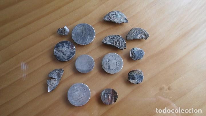 Monedas medievales: LOTE MONEDAS ANTIGUAS HAY PLATA. - Foto 5 - 103111191