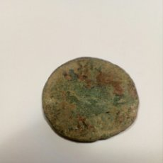 Antigua moneda de bronce