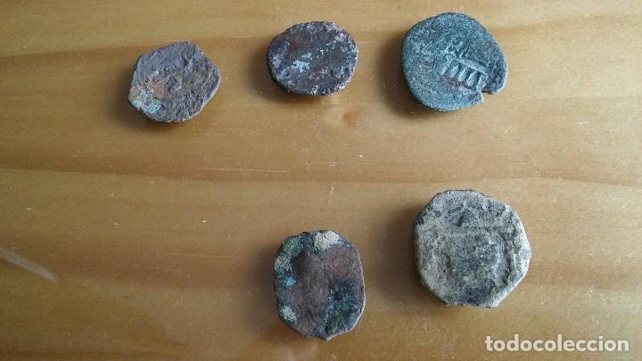 Monedas medievales: LOTE DE RESELLOS MONEDA PIRATA. lote 2 - Foto 2 - 105652063