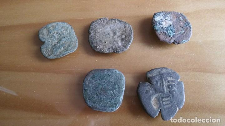 Monedas medievales: LOTE DE RESELLOS MONEDA PIRATA. lote 3 - Foto 2 - 105662243