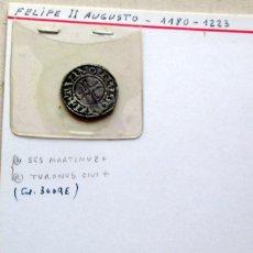 Monedas medievales: FRANCIA - ABADIA DE SAN MARTIN DE TOURS- DINERO. Lote 107101327