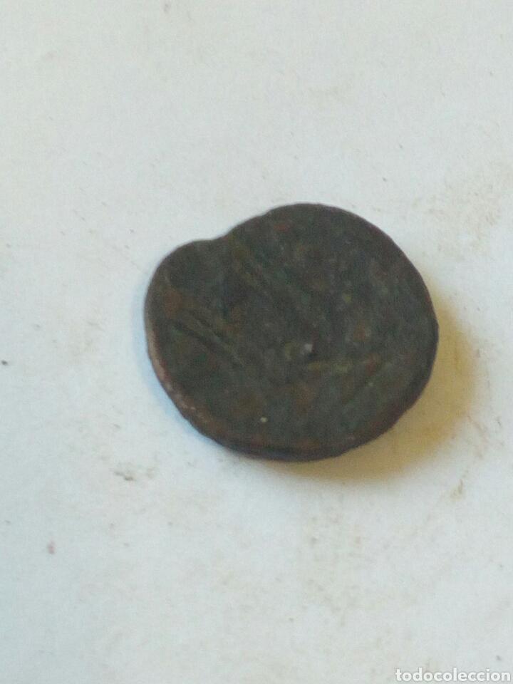 Monedas medievales: Antigua moneda de bronce - Foto 2 - 108451922