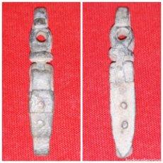Monnaies médiévales: ADORNO CIERRE O ENGANCHE MEDIEVAL DE BRONCE ARTICULADO. Lote 110079798