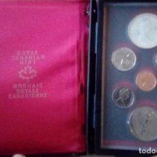 Monedas medievales: ESTUCHE. DE CANADA CONMEMORATIVOS DE LOS XI JUEGOS COMMONWEALTH. Lote 116714007
