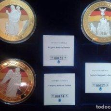 Monedas medievales: MEDALLA CONMEMORATIVA ALEMANIA QUE REPRESENTA LA UNIDAD LA JUSTICIA Y LIBERTAD. Lote 116772979