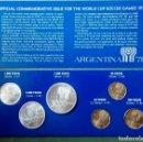 Monedas medievales: MONEDA CONMEMORATIVA MUNDIAL ARGENTINA 1978 3 DE PLATA 3 COBRE. Lote 116826911