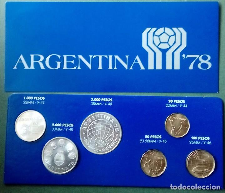 Monedas medievales: Moneda conmemorativa mundial Argentina 1978 3 de plata 3 cobre - Foto 2 - 116826911