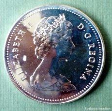 Monedas medievales: MONEDA 1 DOLAR CANADA 1980 PLATA. Lote 116827807