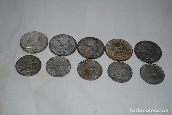LOTE DE MONEDAS DE 2 PESETAS . (Numismática - Hispania Antigua- Medievales - Otros)