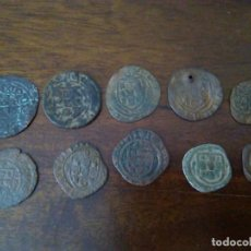 Monedas medievales: COLECCIÓN DE 10 CEITILES. CEITIL.. Lote 120877339