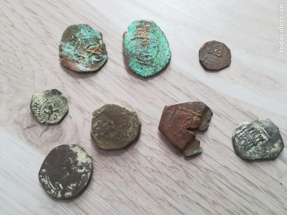 Monedas medievales: LOTE MONEDA MEDIEVAL RESELLO. - Foto 2 - 122249123