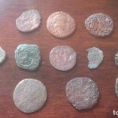 Monedas medievales: LOTE MONEDAS DE COBRE. Lote 127515623