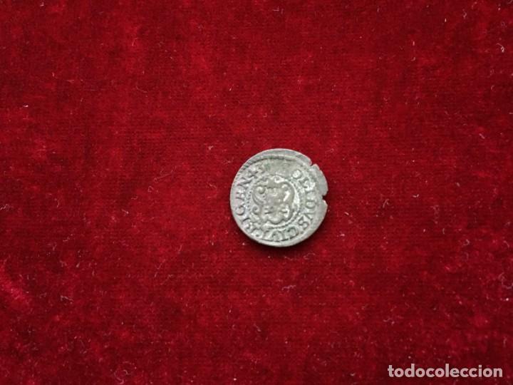 Monedas medievales: SOLIDO 1643 CIUDAD RIGA - Foto 2 - 132164250