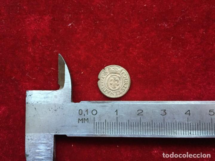 Monedas medievales: SOLIDO 1643 CIUDAD RIGA - Foto 3 - 132164250