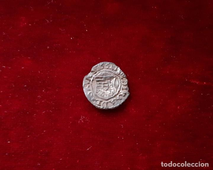 DENARIO 1555 HUNGRIA FALSO DE EPOCA (Numismática - Hispania Antigua- Medievales - Otros)