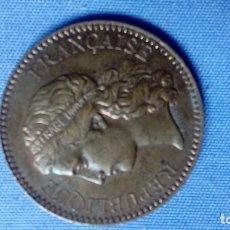 Monedas medievales: ANTIGUA MEDALLA 1878 ADMINISTRACION DE MONEDAS EXPOSICIÓN UNIVERSAL DE PARÍS . Lote 132802710