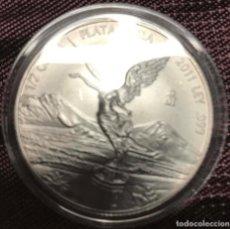 Monedas medievales: MEDIA ONZA MAZIZA DE PLATA 2011 DE LEY. 999 DE LOS ESTADOS UNIDOS MEXICANOS. Lote 136975278