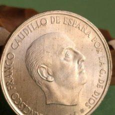 Monedas medievales: 100 PESETAS FRANCO 1966 ESTRELLA 19 - 69 PALO CURVO. Lote 143242550