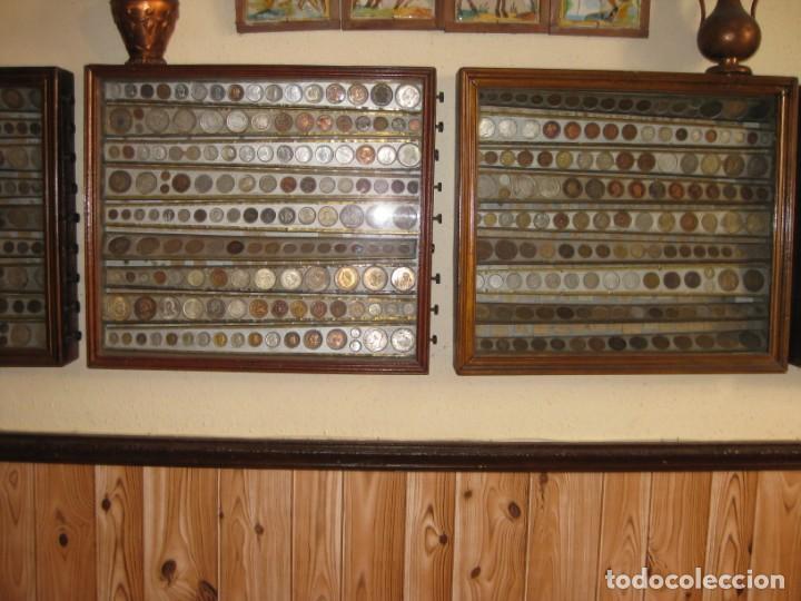 Monedas medievales: COLECCION PARTICULAR DE MONEDAS - ONCE CUADROS QUE SE PUEDEN VER LAS MONEDAS DE LAS DOS CARAS - Foto 2 - 139718430