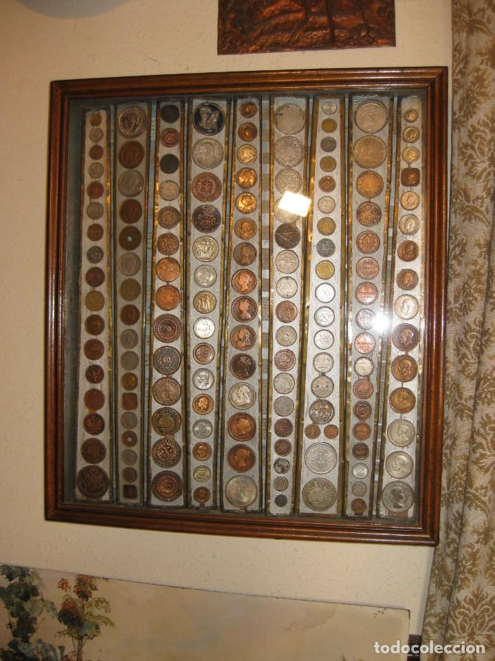 Monedas medievales: COLECCION PARTICULAR DE MONEDAS - ONCE CUADROS QUE SE PUEDEN VER LAS MONEDAS DE LAS DOS CARAS - Foto 4 - 139718430