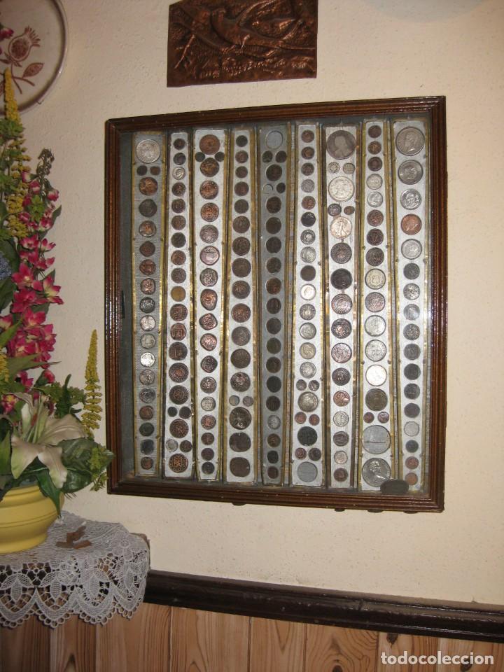 Monedas medievales: COLECCION PARTICULAR DE MONEDAS - ONCE CUADROS QUE SE PUEDEN VER LAS MONEDAS DE LAS DOS CARAS - Foto 5 - 139718430